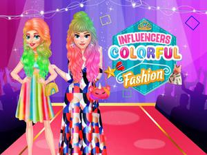 play Influencers Colorful Fashion