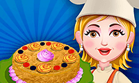 play Baby Hazel: Baking Apple Cake