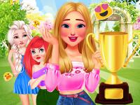 play Princesses Garden Contest