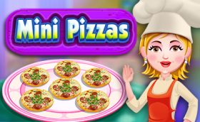 Mini Pizzas - Free Game At Playpink.Com game