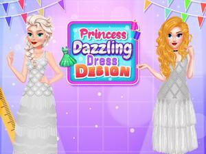 play Princess Dazzling Dress Design