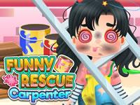 play Funny Rescue Carpenter
