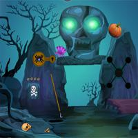 play Games4Escape-Halloween-King-Rescue-Escape