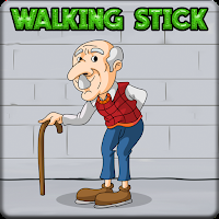 play G2J Old Man Walking Stick Escape