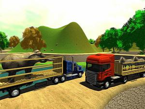 play Offroad Animal Truck Transport Simulator 2020