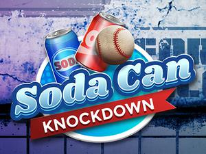 play Soda Can Knockout