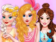 Princess Dazzling Dress Design game