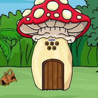G2J Mushroom Forest House Escape game