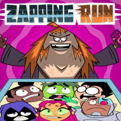 Teen Titans Go! Zapping Run game
