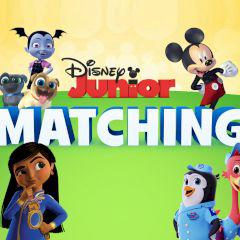 Disney Junior Matching game