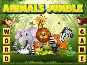 Animals Jumble game