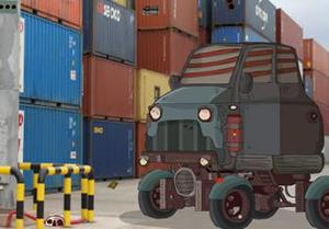 Restricted Container Yard Escape game