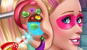 Barbie Ear Doctor game