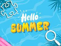 Hello Summer Puzzles game