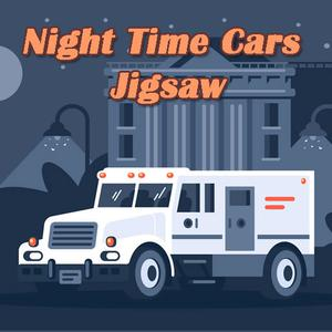 Night Time Cars Jigsaw game