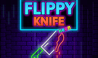 Flippy Knife Neon game