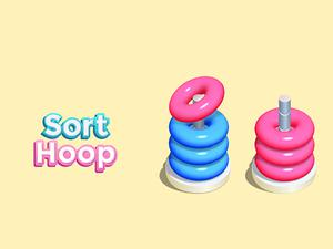 Sort Hoop game