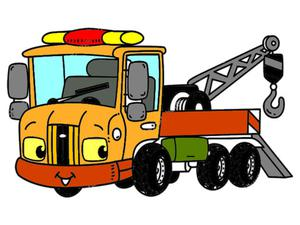 Tow Trucks Coloring game