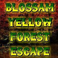 Blossam Yellow Forest Escape game