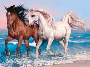 play Animals Jigsaw Puzzle Horses