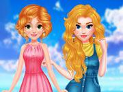 Princess Girls Air Balloon Trip game