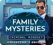 play Family Mysteries: Criminal Mindset Collector'S Edition