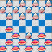 play Checkers-Shells