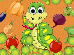 play Vegetable Snake