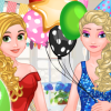 Frosty Princess Party Surprise game