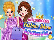 Influencers Fashion Show Adventure game