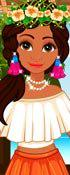 play Moana Dress Up Game 2