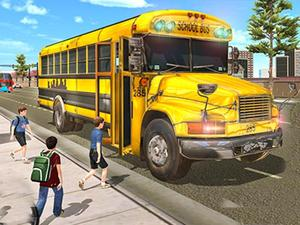 play City School Bus Driving