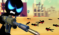 Stickman Armed Assassin: Going Down game
