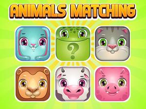 Animals Memory Matching game