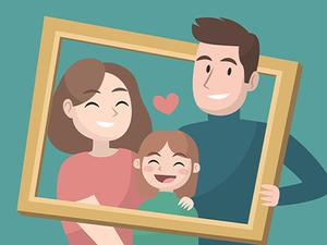 Happy Family Puzzle game