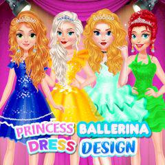Princess Ballerina Dress Design game