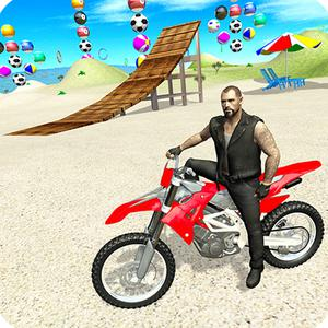 Motorbike Beach Fighter 3D game