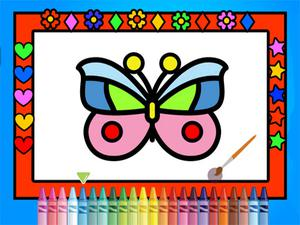 Color And Decorate Butterflies game