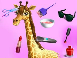 play Animal Fashion Hair Salon