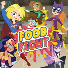 play Dc Super Hero Girls Food Fight