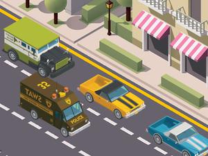 play Miami Traffic Racer