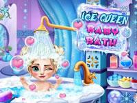 play Ice Queen Baby Bath