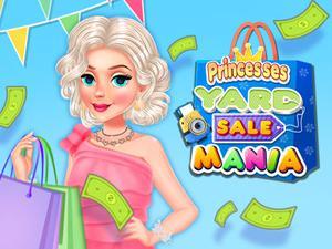 play Princesses Yard Sale Mania