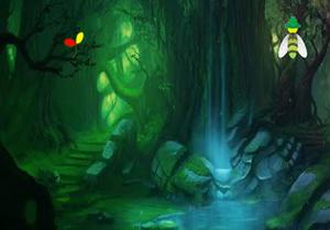 play Dark Green Fantasy Forest Escape