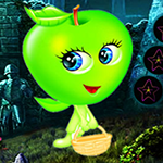 play Cute Green Apple Escape