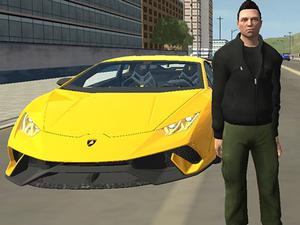 Grand City Car Thief game