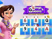 play Kings And Queens Solitaire Tripeaks