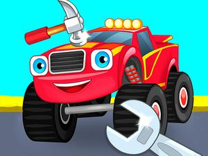 play Monster Truck Repairing