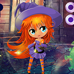 Lovely Witch Girl Escape game