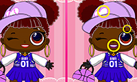 Popsy Princess: Spot The Difference game